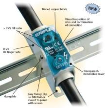 Nya övergångsblock mellan kablar. Elfack monter B01:30