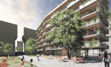 Vinnare utsedd i arkitekttävling för nya bostäder på Södermalm
