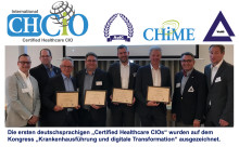 Zweite Prüfungsvorbereitung & Prüfung zum Certified Healthcare CIO: 14.-16.10.2019, Leipzig