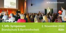 1. bfb-Symposium Brandschutz & Barrierefreiheit verschoben