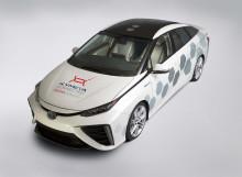 Toyota testar bil med snabb satellituppkoppling