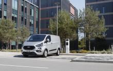Fremtidens Ford-varebiler: Ny Transit Custom PHEV og 2-tons Transit
