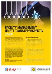 Informationsblad om Facility management ur ett tjänsteperspektiv, 7.5 hp vid Karlstads universitet