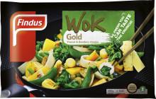 Ny smakrik asiatisk grönsakswok - Findus Wok Gold