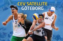 Team GBC spelare i Europatourtävling på hemmaplan