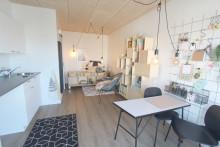 Studielivet i lejlighed fra Mobilhouse