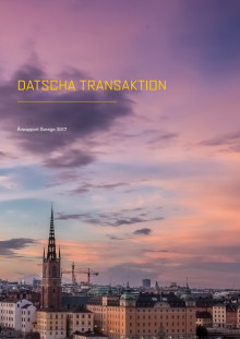 Datscha Transaktionsrapport Helår 2018