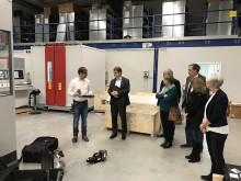 SPD-Landesvorsitzender Ralf Stegner zu Besuch bei VisiConsult