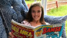 10-åriga Elin från Gävle vann nationell serietävling – nu publiceras hon i Bamse