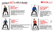 Sitting is not a risk to health