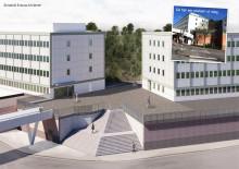 GöteborgsLokaler bygger en 17 meter bred trappa vid Kortedala Torg