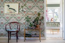 Midbec lanserar tapetkollektion med Hanna Wendelbo- Blomstermåla