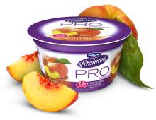 Fyll på med goda proteiner – succén Vitalinea PRO nu i somriga smaken Persika