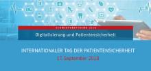Internationaler Tag der Patientensicherheit