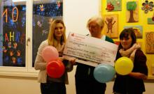 Klassenkasse für Bärenherz: Schüler der Freien Oberschule Leipzig spenden für das Kinderhospiz