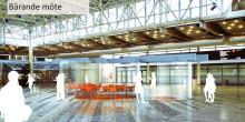 Café med bärande glas vinner arkitekttävling