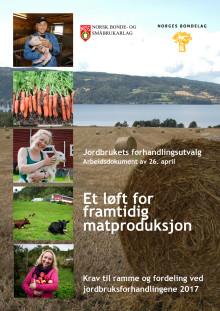 Jordbrukets krav 2017
