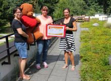 21-jähriges Firmenjubiläum: Private Krankenpflege Susan Stickel sammelt für Bärenherz