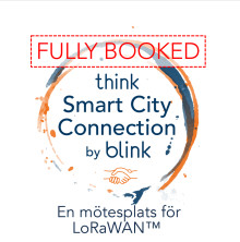 Fullbokat på Smart City Connection