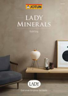 Jotun Lady Minerals färgkarta