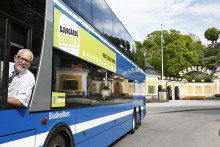 Välkommen till pressvisning av nya Djurgårdsbussen