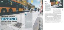 """""""Ljus och spetsad betong räddar våra lungor"""", Tidningen Betong, juni 2014"""