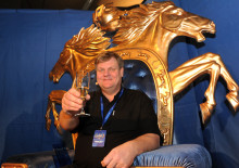 Jan Lundin, Gävle, vann VM i V75