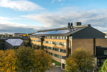 Akademiska Hus satsar stort på solceller i Umeå