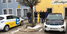 Neue Stromtankstelle in Velburg