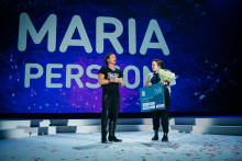 Maria Persson utnämns till Employee of the Year på Nordic Choice Hotels Vinterkonferens