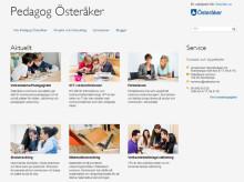 Nu lanseras Pedagog Österåker