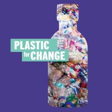Plastic For Change - The Body Shop introducerar återvunnen Fair Trade-plast!