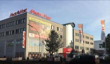 ebm-papst fläktvägg löste problem med Media Markts luftkonditionering i Berlin