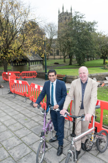 Radcliffe goes cycle-friendly
