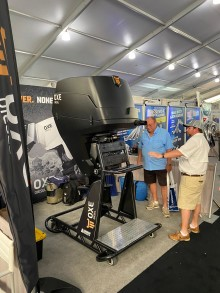 On-display OXE300 has caused much attention at the Miami International Boat Show