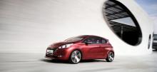 Peugeot på bilsalongen i Genève - Världspremiär för Peugeot 208 och två läckra, sportiga koncept