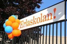 Erlaskolan Södras nya lokaler på Vrinnevi Park invigs med pompa och ståt
