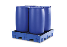 Invallning av kemikalier med uppsamlingskärl PolySafe Euroline
