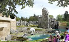 Richtfest POLARIUM: Im August ziehen die Eisbären und Pinguine ein