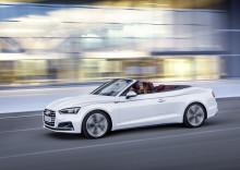 Ny Audi A5 og S5 Cabriolet – åben for intensiv køreglæde