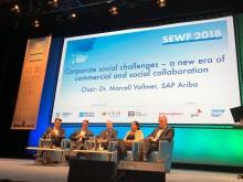 SAP inleder samarbete med SEWF för att stärka socialt företagande