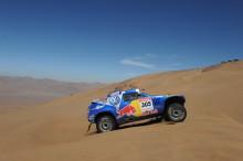Volkswagen-teamet redo inför Dakar-rallyt