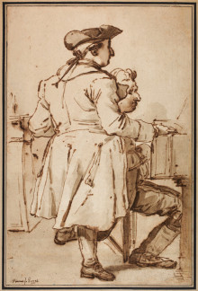 Nyförvärv: Vincents vänporträtt av Sergel