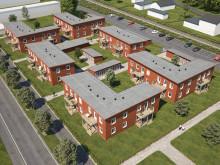 """Välkommen på """"första spadtag"""" för det nya kvarteret BoKlok Droskan i Gunsta!"""
