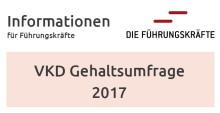 Newsletter KW 50: Ergebnisse der Gehaltsumfrage des VKD in Kooperation mit DIE FÜHRUNGSKRÄFTE