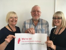 Council signs up to the UK mental health challenge