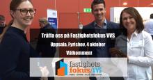 Thermotech medverkar på Fastighetsfokus VVS i Uppsala den 4 oktober 2017