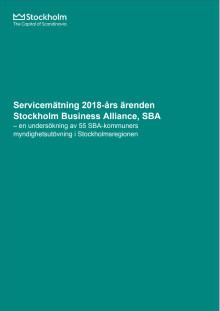 Nöjd Kund Index: SBA Servicemätning 2018