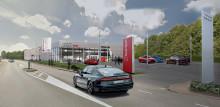 Castellum uppför ny Audi-anläggning för Möller Bil i Göteborg