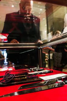 Världens dyraste kniv besöker Kalmar